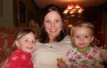 Aunt Gigi and cousin Ava